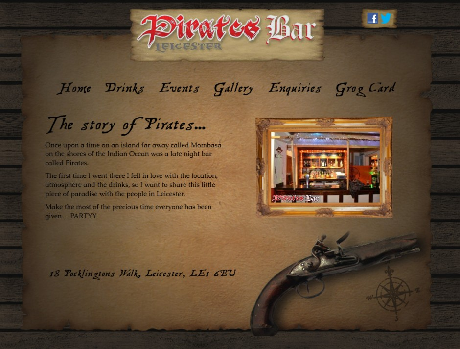 Pirates-Bar